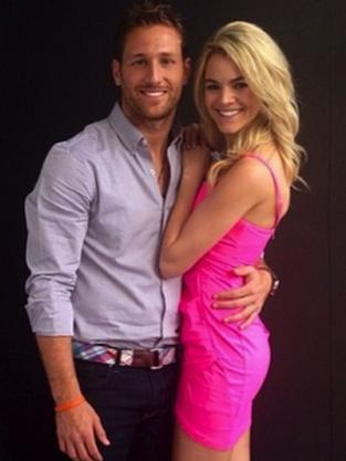 Juan Pablo and Nikki Ferrell Photograph