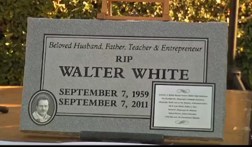 Walter White Grave