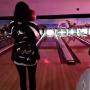 Kylie Jenner bowls