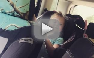 Leah Messer Records Video of Daughter While Driving