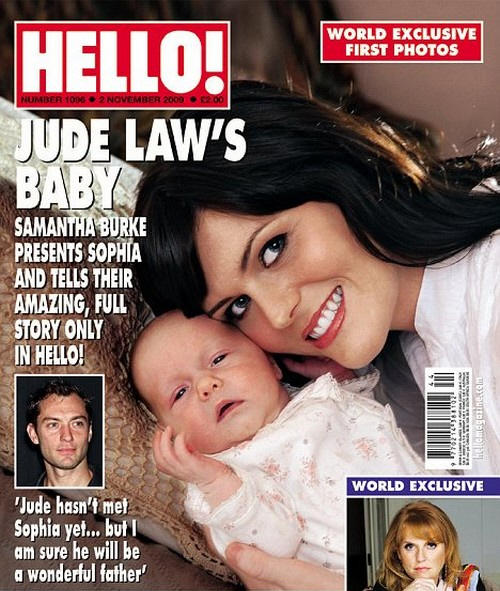 Jude Law vs. Samantha Burke
