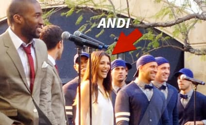 Andi Dorfman, The Bachelorette Contestants Sing with Boyz II Men: Spoiler Pic!