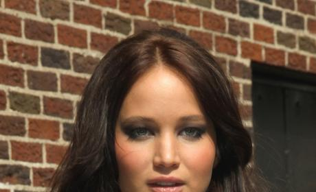 Jennifer Lawrence Goes Dark