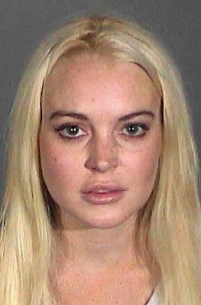 Lindsay Lohan Mug Shot (New)