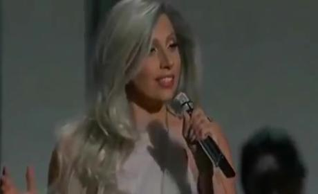 Lady Gaga Oscars Performance Brings the House Down: Watch Her Sound of Music Tribute!