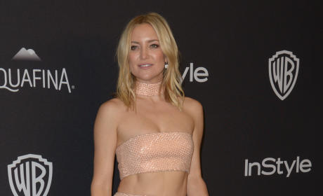 Kate Hudson: 2016 InStyle/Warner Bros Golden Globes After Party