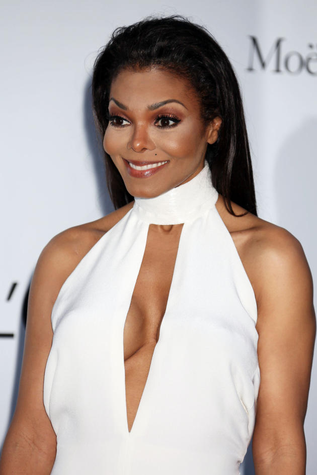 Janet Jackson in White