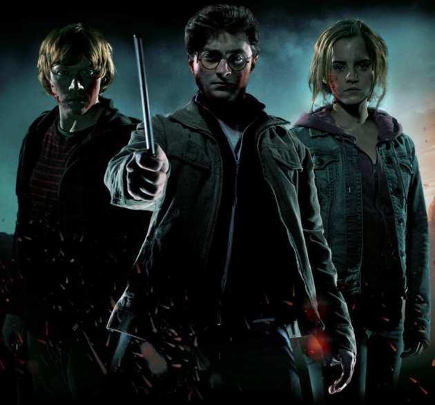 The Harry Potter Trio