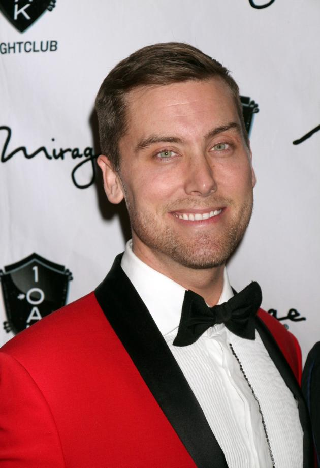 Lance Bass in a Tux