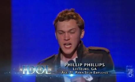 Phillip Phillips, Reed Grimm and Travis Orlando Audition in Hollywood
