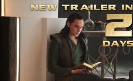 Thor: The Dark World Image Shows Loki Doing a Little Light Reading