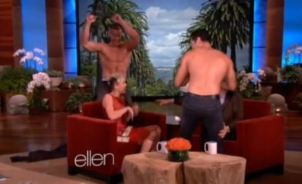 Miley Cyrus: Surprised by Strippers on Ellen!