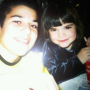 Kendall and Rob Throwback Photo