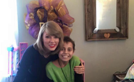 Taylor Swift and Young Cancer Fan