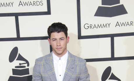 Nick Jonas at the 2015 Grammys
