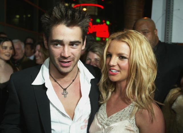 Colin Farrell and Britney Spears