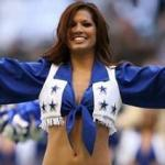 Melissa Rycroft, Dallas Cowboys Cheerleader