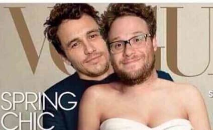 Seth Rogen and James Franco Mock Kimye Vogue Cover