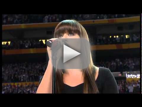 Kelly Clarkson National Anthem