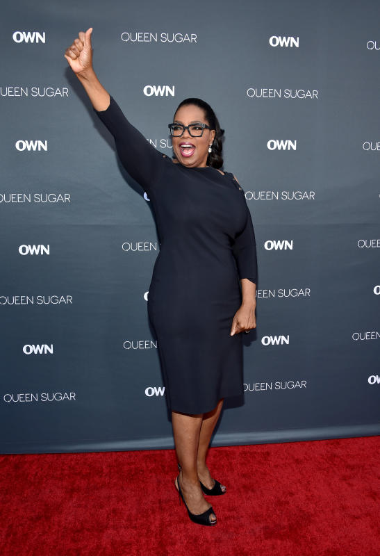 Yay for oprah