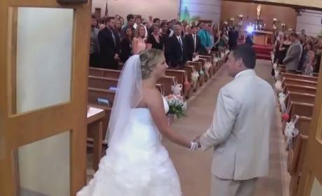 Father Serenades Daughter at Wedding