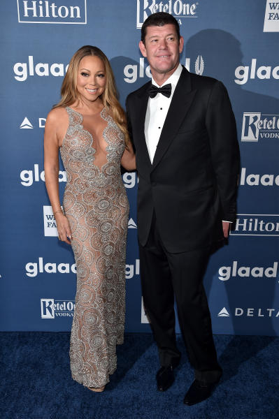 James Packer and Mariah Carey Photo