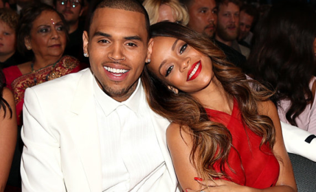Rihanna and Chris Brown Cozy Up at Grammys, Blow Up Twitter, Polarize Fans