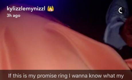 Kylie Jenner Promise Ring Photo