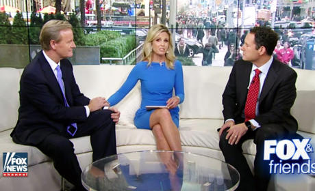 Elisabeth Hasselbeck Announces Fox & Friends Departure, Cries A Lot
