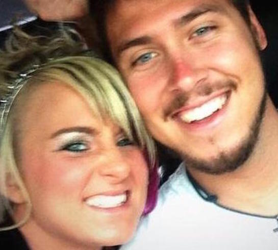 Leah and jeremy calvert selfie