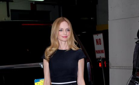 Heather Graham Leaves Huffington Post's Offices