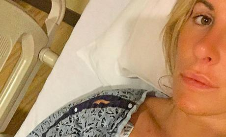Kim Zolciak Hospital Pic