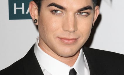 Celebrity Hair Affair: Adam Lambert Goes Long