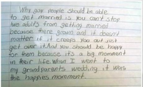 Pro-Gay Marriage Essay