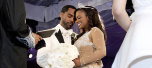 Kandi Burruss with Todd Tucker