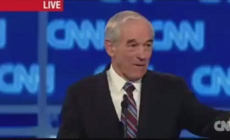 John King Ignores Ron Paul, Gets Booed By Crowd at S.C. Debate