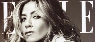 Aniston Elle Cover