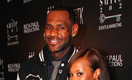 LeBron James, Engagement Ring