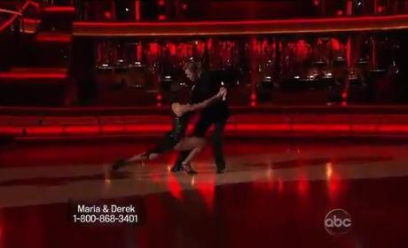 Maria Menounos & Derek Hough - Tango (DWTS Week 9)