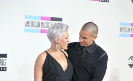 Pregnant Pink and Carey Hart