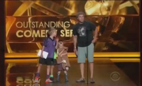 Will Ferrell, Children Present Top Two Emmy Awards