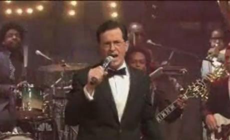 "Stephen Colbert, Jimmy Fallon, Taylor Hicks Cover ""Friday"""