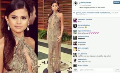 Justin Bieber: Selena Gomez is a Princess!