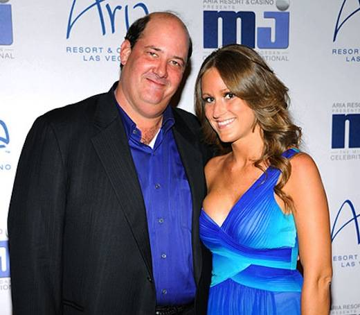 Brian Baumgartner and Celeste Ackelson