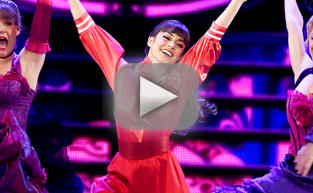 Vanessa Hudgens Performs at 2015 Tony Awards
