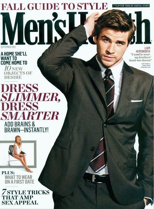 Liam Hemsworth for Men's Health