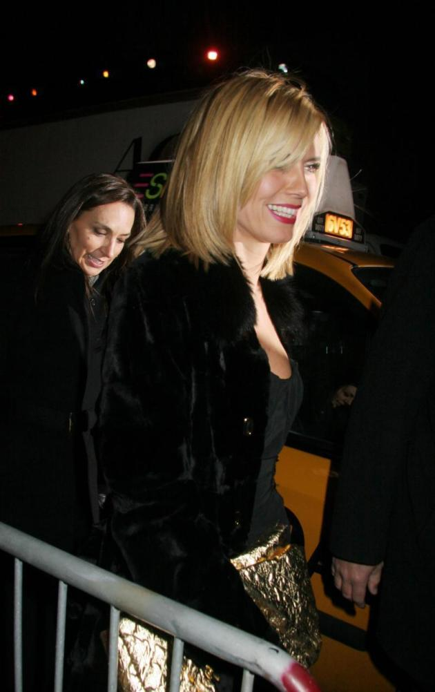 Heidi Klum at Britney Spears' Birthday