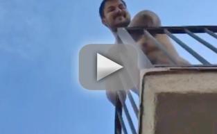 Rob Kardashian: SHIRTLESS in New Snapchat Vid! WATCH!