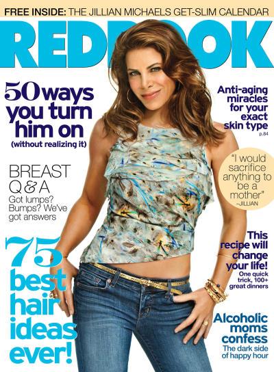 Jillian Michaels Redbook Cover