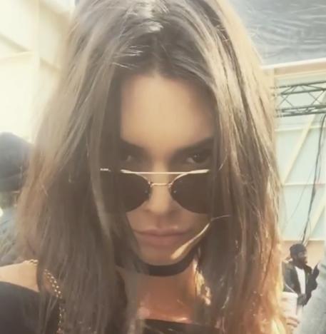 Kendall Jenner in Glasses